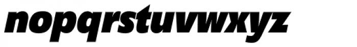 Diamanti Condensed EF Black Italic Font LOWERCASE