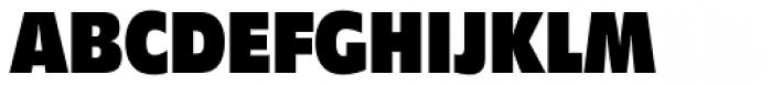 Diamanti Condensed EF Black Font UPPERCASE
