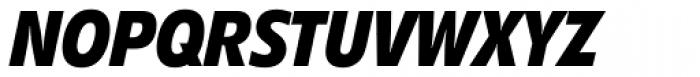 Diamanti Condensed EF Bold Italic Font UPPERCASE