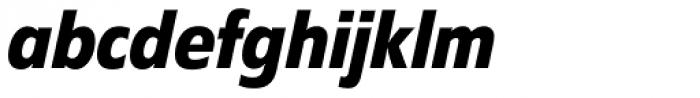 Diamanti Condensed EF Bold Italic Font LOWERCASE