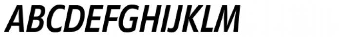 Diamanti Condensed EF Book Italic Font UPPERCASE