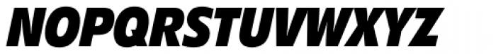 Diamanti Condensed EF Heavy Italic Font UPPERCASE