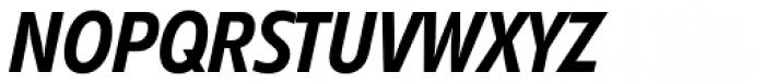 Diamanti Condensed EF Italic Font UPPERCASE