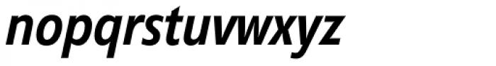 Diamanti Condensed EF Italic Font LOWERCASE
