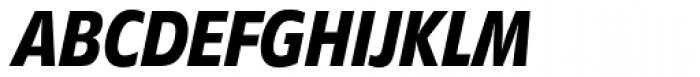 Diamanti Condensed EF Medium Italic Font UPPERCASE