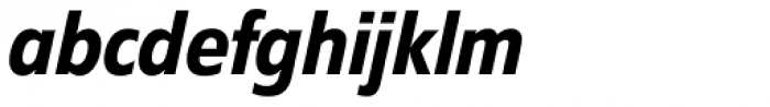 Diamanti Condensed EF Medium Italic Font LOWERCASE