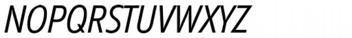 Diamanti Condensed EF Thin Italic Font UPPERCASE