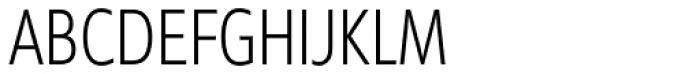 Diamanti Condensed EF UltraThin Font UPPERCASE