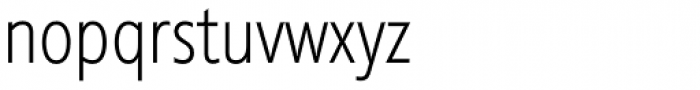 Diamanti Condensed EF UltraThin Font LOWERCASE