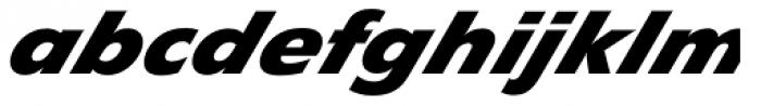 Diamanti Diagonal EF Heavy Font LOWERCASE