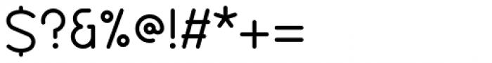 Diameter Rounded Regular Font OTHER CHARS