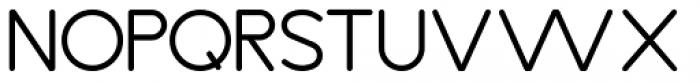 Diameter Rounded Regular Font UPPERCASE