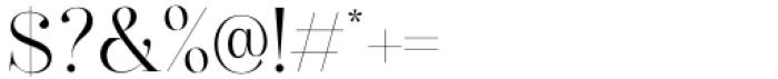 Diamond Bridge Regular Font OTHER CHARS