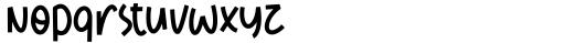 Diamond Midnight Regular Font LOWERCASE