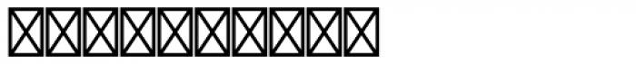 Diamond Std Negative Font OTHER CHARS