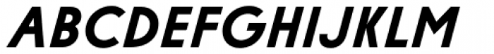 Diamonds Black Italic Font UPPERCASE