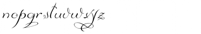 Diana Font LOWERCASE
