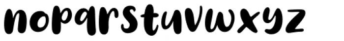 Diane Amorta Regular Font LOWERCASE