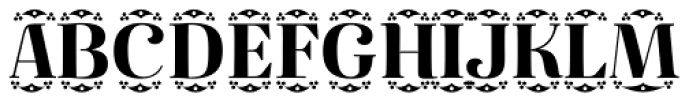 Diara Crown Font UPPERCASE