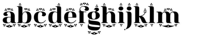 Diara Crown Font LOWERCASE