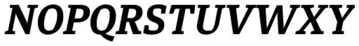 Diaria Pro Bold Italic Font UPPERCASE