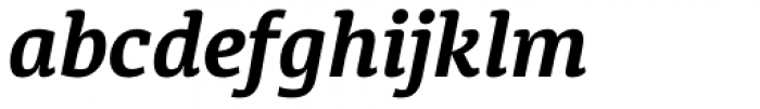 Diaria Pro Bold Italic Font LOWERCASE