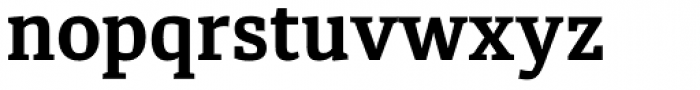 Diaria Pro Bold Font LOWERCASE
