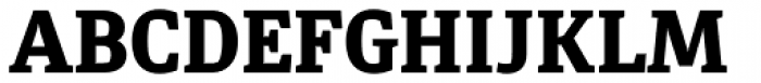 Diaria Pro Extra Bold Font UPPERCASE