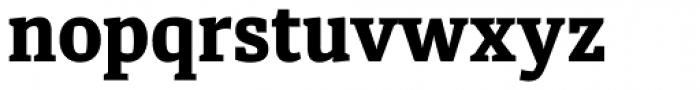Diaria Pro Extra Bold Font LOWERCASE