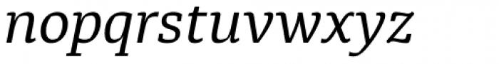 Diaria Pro Italic Font LOWERCASE