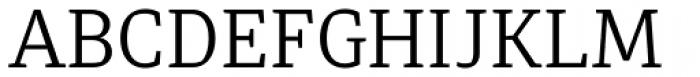 Diaria Pro Light Font UPPERCASE