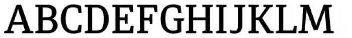 Diaria Pro Medium Font UPPERCASE