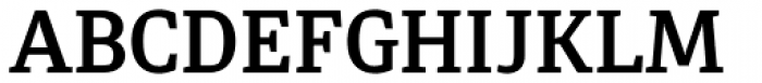 Diaria Pro Semi Bold Font UPPERCASE