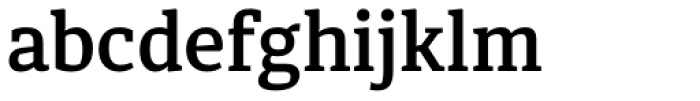 Diaria Pro Semi Bold Font LOWERCASE