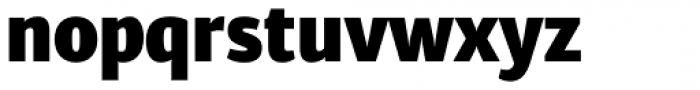 Diaria Sans Pro Black Font LOWERCASE
