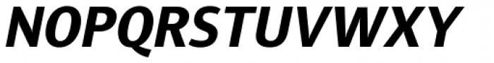 Diaria Sans Pro Bold Italic Font UPPERCASE
