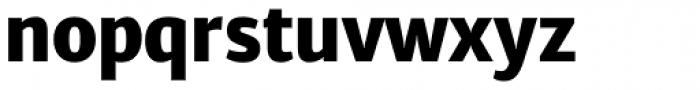 Diaria Sans Pro Extra Bold Font LOWERCASE