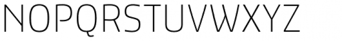 Dic Sans Thin Font UPPERCASE