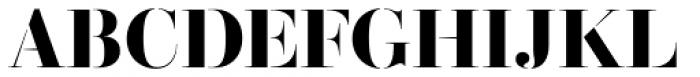 Didonesque Stencil Elegante Bold Font UPPERCASE