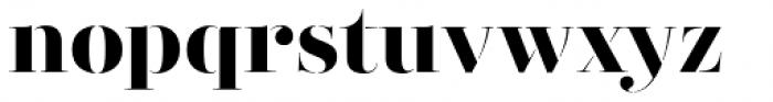 Didonesque Stencil Elegante Bold Font LOWERCASE