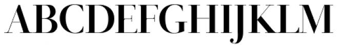 Didot Display Bold Font UPPERCASE