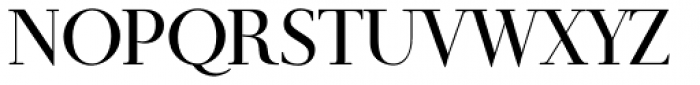 Didot Headline Demi Font UPPERCASE
