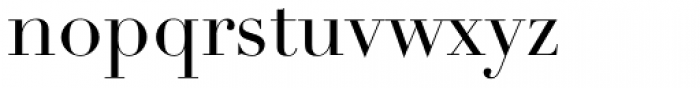 Didot LT Std Roman Font LOWERCASE