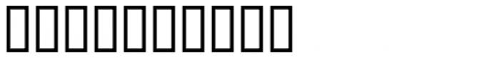Die Fette Hubbuch Ligatures Font OTHER CHARS