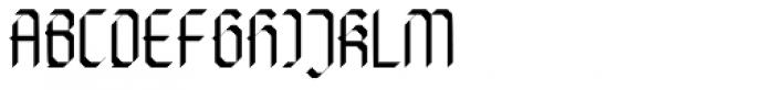 Die Fette Hubbuch Font UPPERCASE