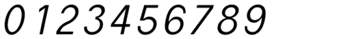 Die Monospaced Hubbuch Light Italic Font OTHER CHARS