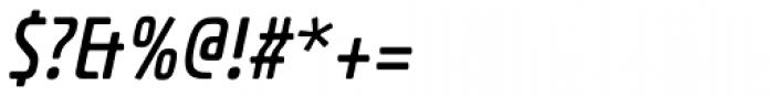 Dieselis Economic One Oblique Font OTHER CHARS