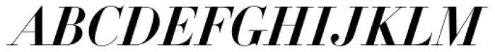 DietDidot Bold Italic Font UPPERCASE
