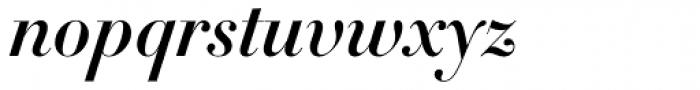 DietDidot Bold Italic Font LOWERCASE