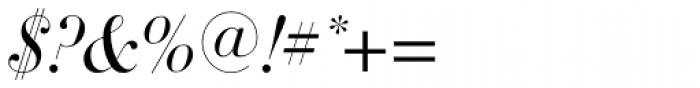 DietDidot Italic Font OTHER CHARS